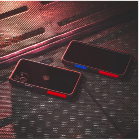 TELEPHANT 太樂芬|NMDER抗汙防摔框 iPhone 12mini  黑OG