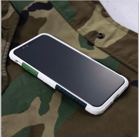Telephant 太樂芬|NMDer iPhone系列 抗汙防摔框 白綠