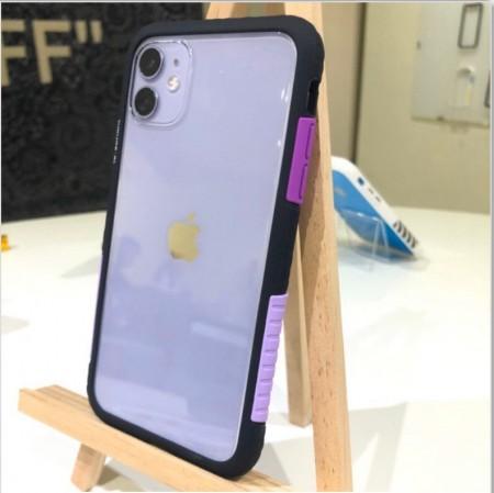 Telephant 太樂芬|NMDer iPhone系列 抗汙防摔框 黑紫