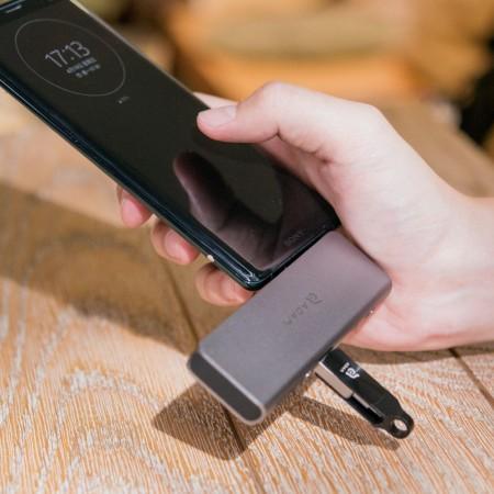 亞果元素 CASA Hub 5E USB-C 五合一高速供電讀卡多功能集線器