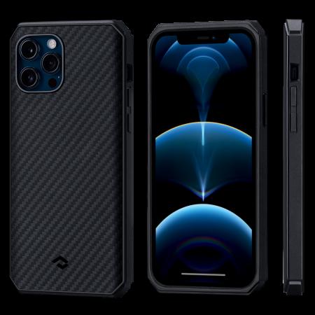 PITAKA MagEZ Case 航太纖維軍規磁吸手機殼 iPhone12 Pro Max
