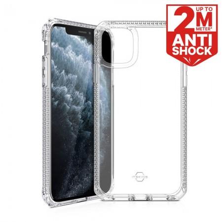 ITSKINS iPhone 11 Pro Max HYBRID CLEAR 抗菌防摔保護殼