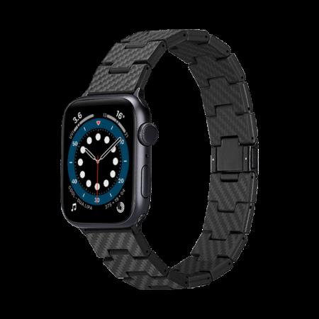 PITAKA Appel Watch 碳纖維錶帶(復古)