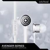 InfoThink 復仇者聯盟美國隊長耳機