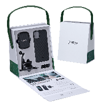 【夏日特惠】PITAKA iPhone11 車用禮盒 (MagEZ手機殼+磁吸車用支架)