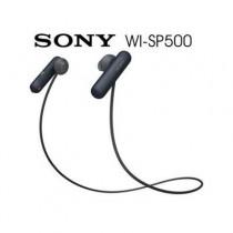 SONY WI-SP500 無線藍牙 運動防水入耳式耳機  黑色