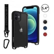 Odyssey 掛繩軍規 5.4吋 iPhone12 mini 金屬手機殼