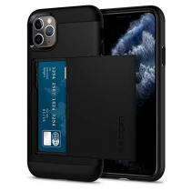 Spigen iPhone 11 Pro Max Slim Armor CS-卡夾軍規防摔保護殼