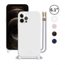 PLAY 掛繩 6.1吋 iPhone12/12Pro 矽膠手機保護殼
