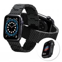 PITAKA | Apple  WATCH 錶殼+碳纖維錶帶