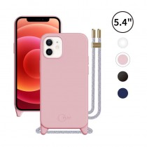PLAY 掛繩 5.4吋 iPhone12 mini 防摔矽膠手機保護殼