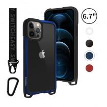 Odyssey 掛繩 6.1吋 iPhone12/12Pro 金屬手機殼