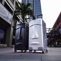 Stoner Design 石人設計 摩艾石像行李箱 黑29吋