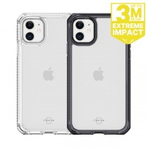 ITSKINS iPhone 11 SUPREME CLEAR 抗菌防摔保護殼