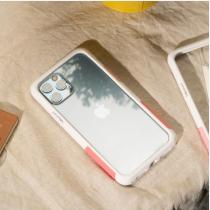 TELEPHANT 太樂芬|NMDer抗汙防摔框 iPhone 12 Pro Max 白粉