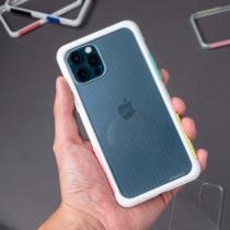 TELEPHANT 太樂芬|NMDer抗汙防摔框 iPhone 12 Pro Max 白棉花糖
