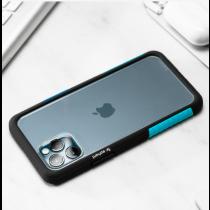 TELEPHANT 太樂芬|NMDer抗汙防摔框 iPhone 12 Pro Max 黑聖保羅藍