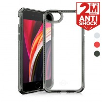 ITSKINS iPhone SE 2020 HYBRID CLEAR 抗菌防摔保護殼