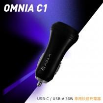 OMNIA C1 USB−C PD & QC 36W 極速車充