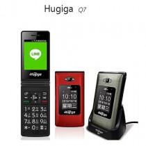 Hugiga Q7 摺疊機/大字體/大按鍵/大螢幕/可熱點分享/支援LINE