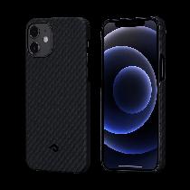 PITAKA|MagEZ Case 航太纖維磁吸手機殼 iPhone12黑灰
