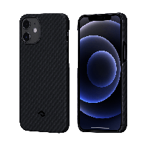 PITAKA|MagEZ Case 航太纖維磁吸手機殼 iPhone12 mini 黑灰