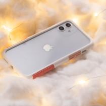 【好康出清】TELEPHANT 太樂芬| iPhone 12 / 12 Pro 白玫瑰色