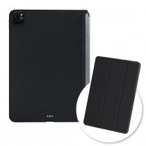 【預購】PITAKA|MagEZ Case2 iPad 平板對開立架保護殼套組(殼&對開立架)